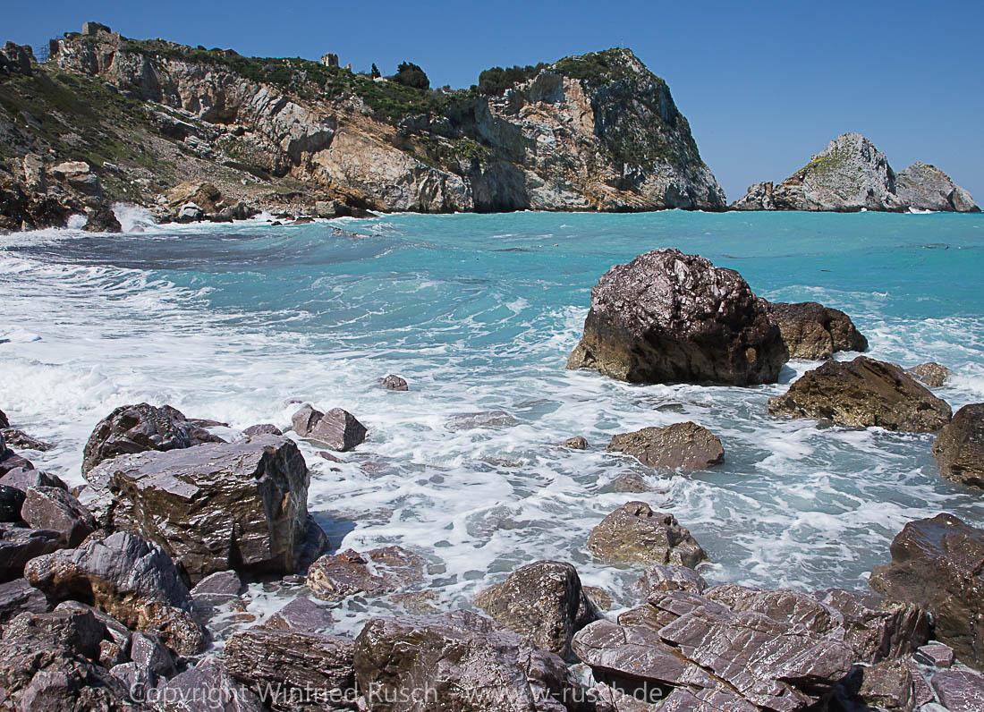 Kástro auf Skiathos, Greece