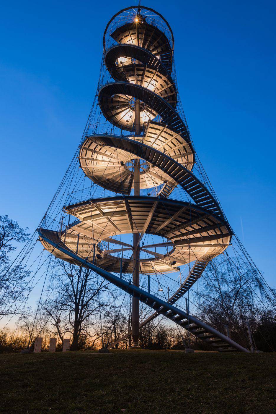 Killesbergpark Stuttgart, Germany