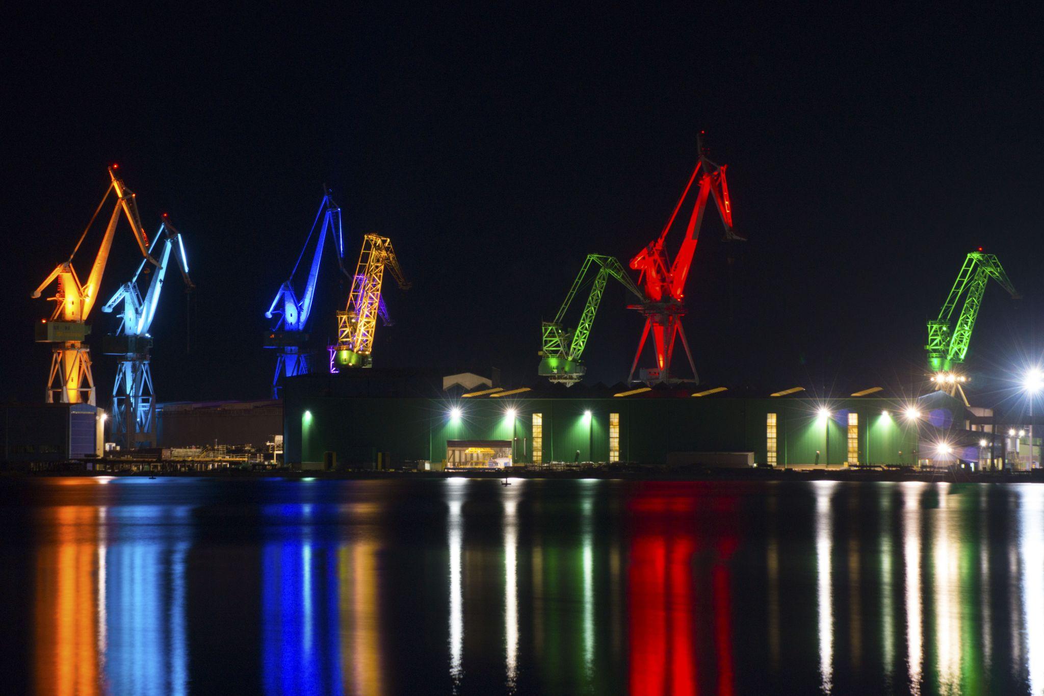 Lighting giants, Croatia