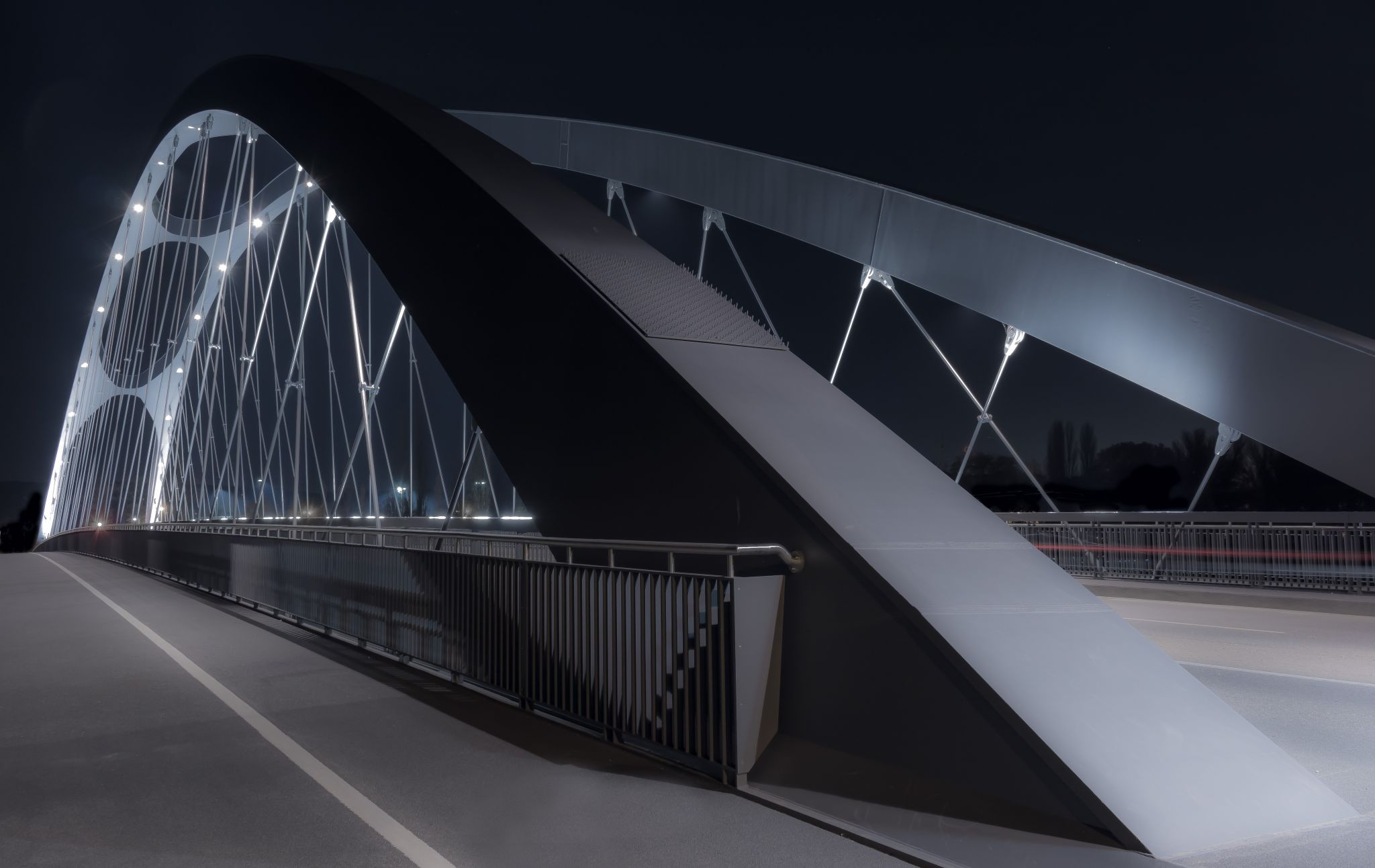 Osthafenbrücke, Germany