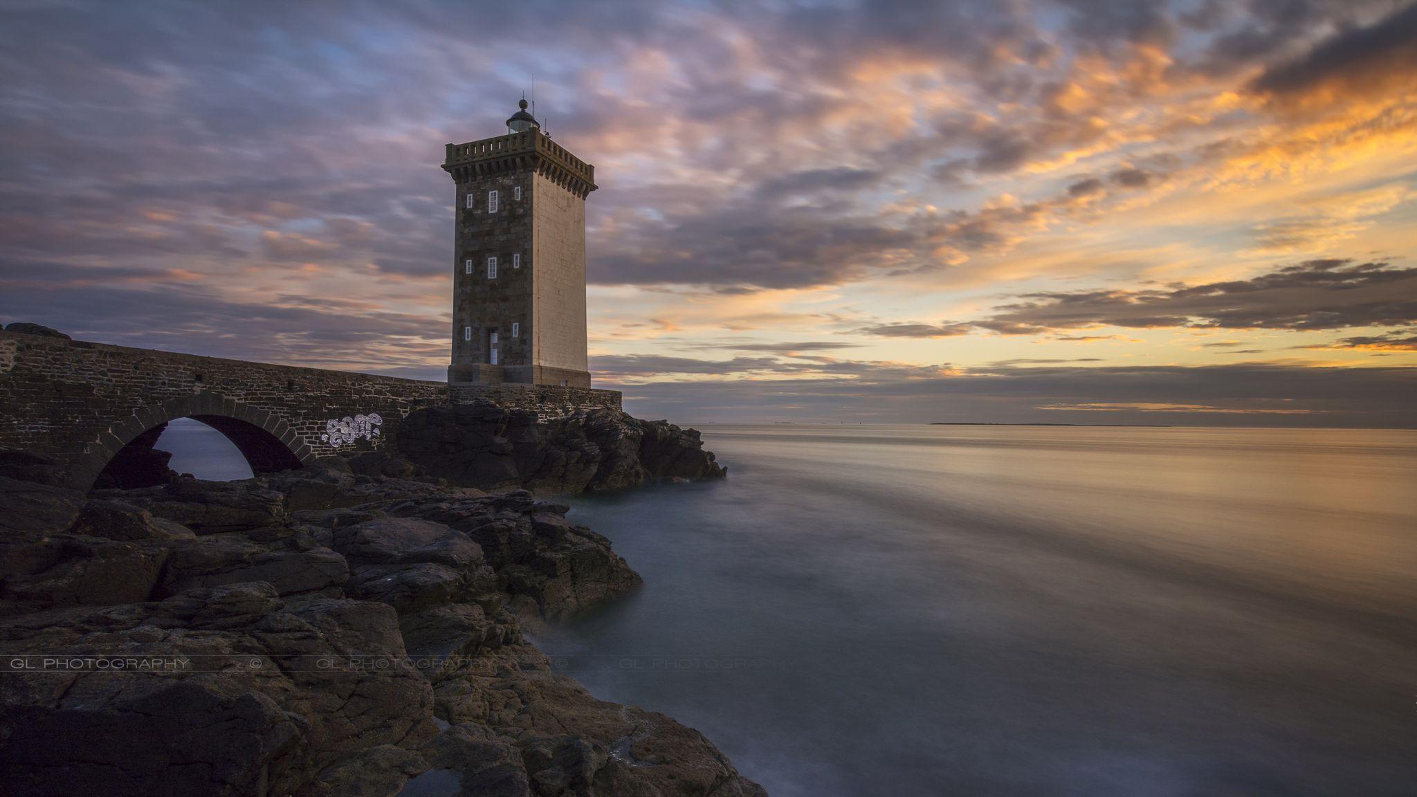 Phare de Kermorvan (lighthouse), France