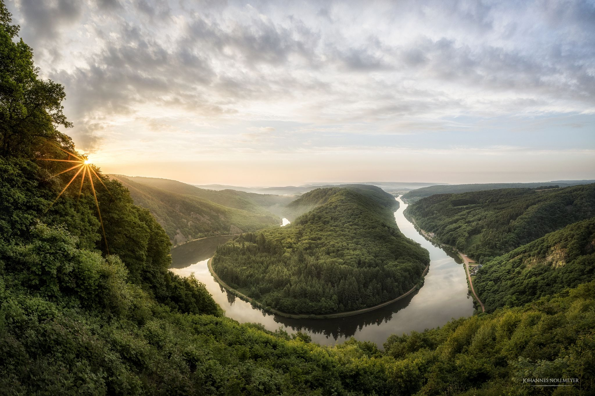 Saarschleife, Saar Loop, Germany