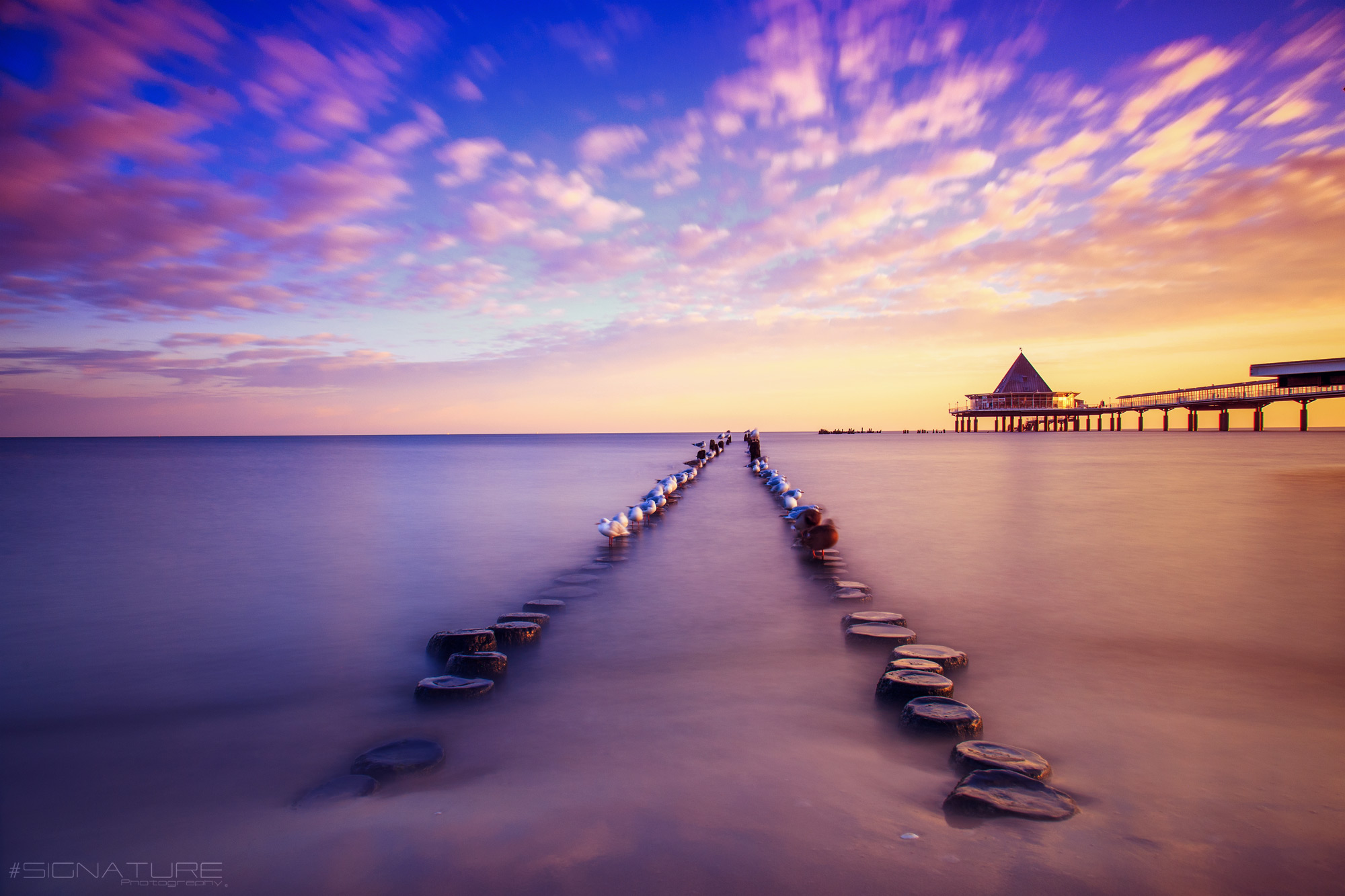 Sunset on Baltic Sea, Germany