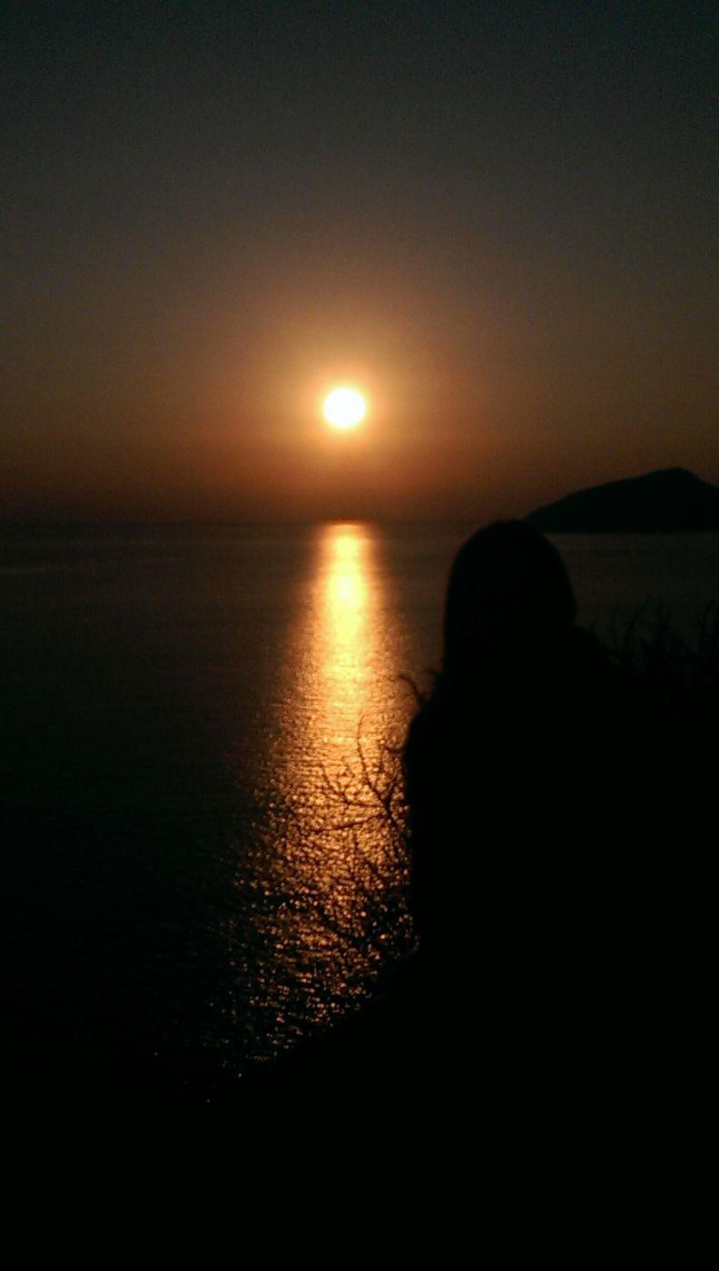 Sunset Sounion, Greece
