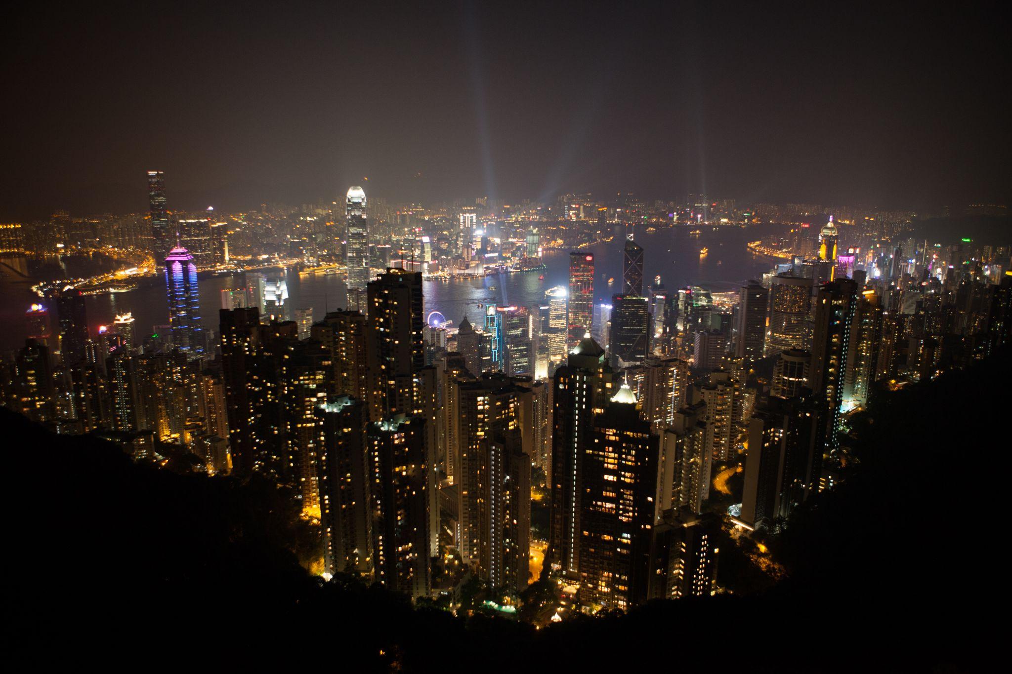 The Peak Tower, above Hong Kong, Hong Kong
