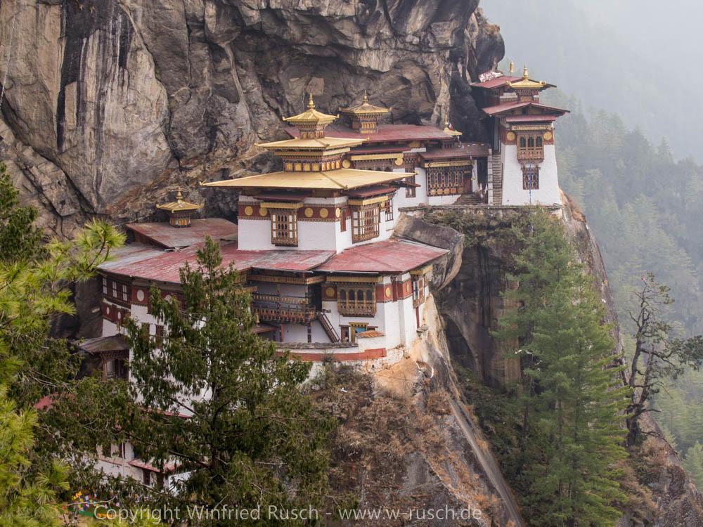 Tigernest, Bhutan