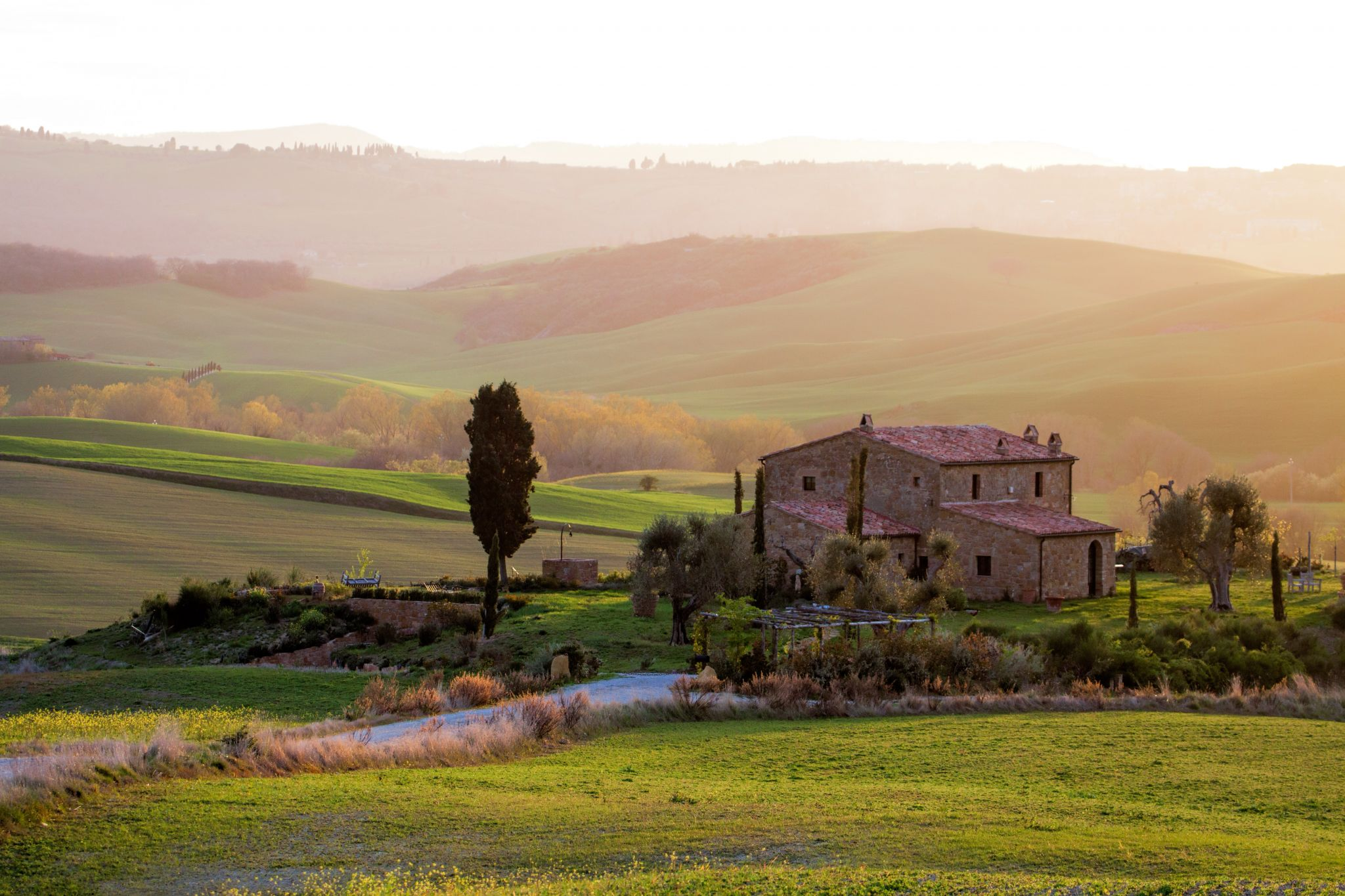 Tuscany near Pienza, Italy