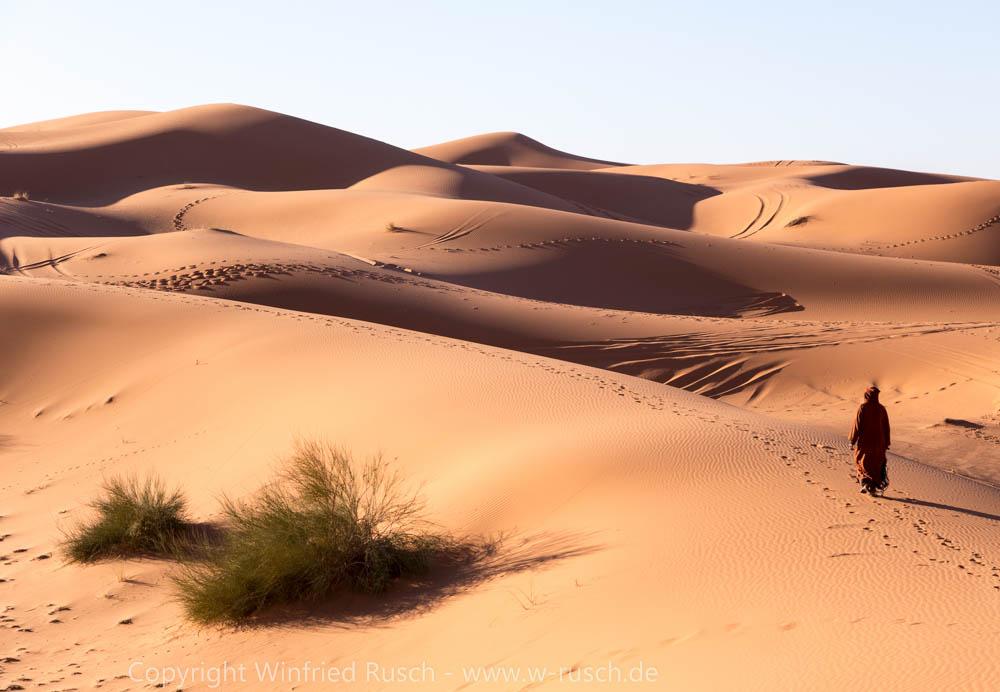 Wüste Erg Chebbi, Morocco