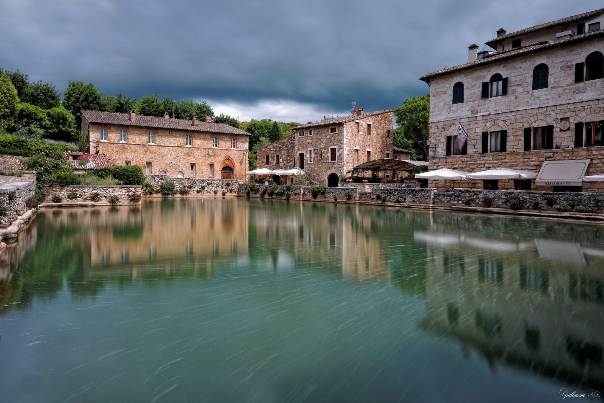 Bagno Vignoni Toscana Italy