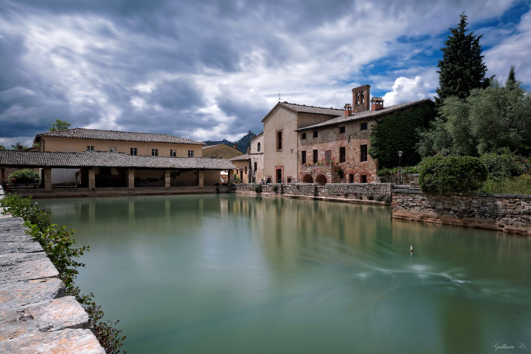 Bagno Vignoni (Toscana), Italy