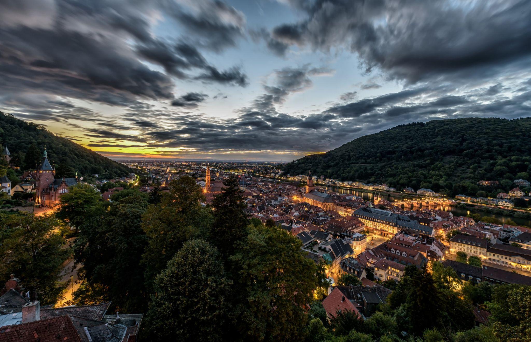 Heidelberg Cityview, Germany