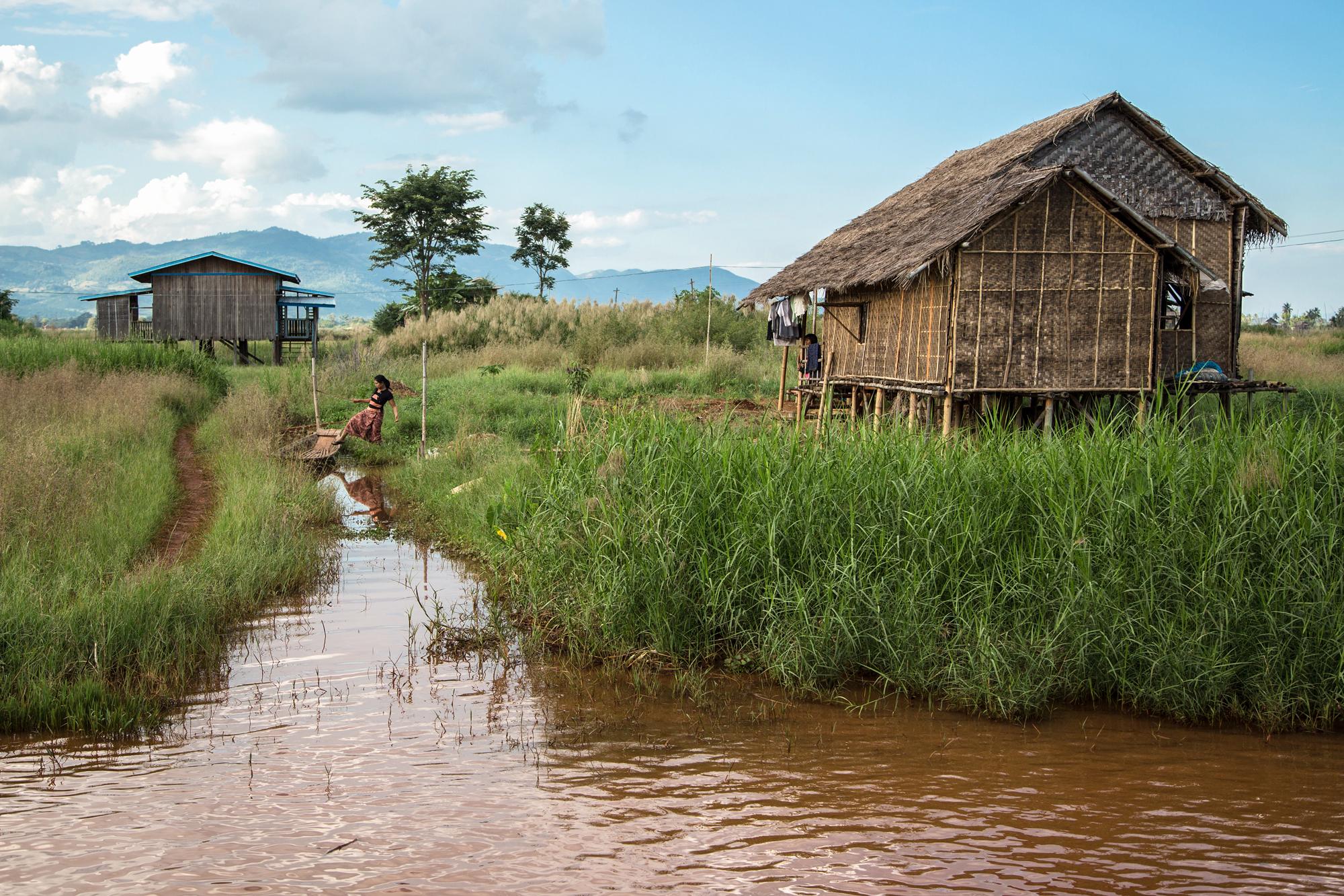 Leben auf dem Inle-See, Myanmar