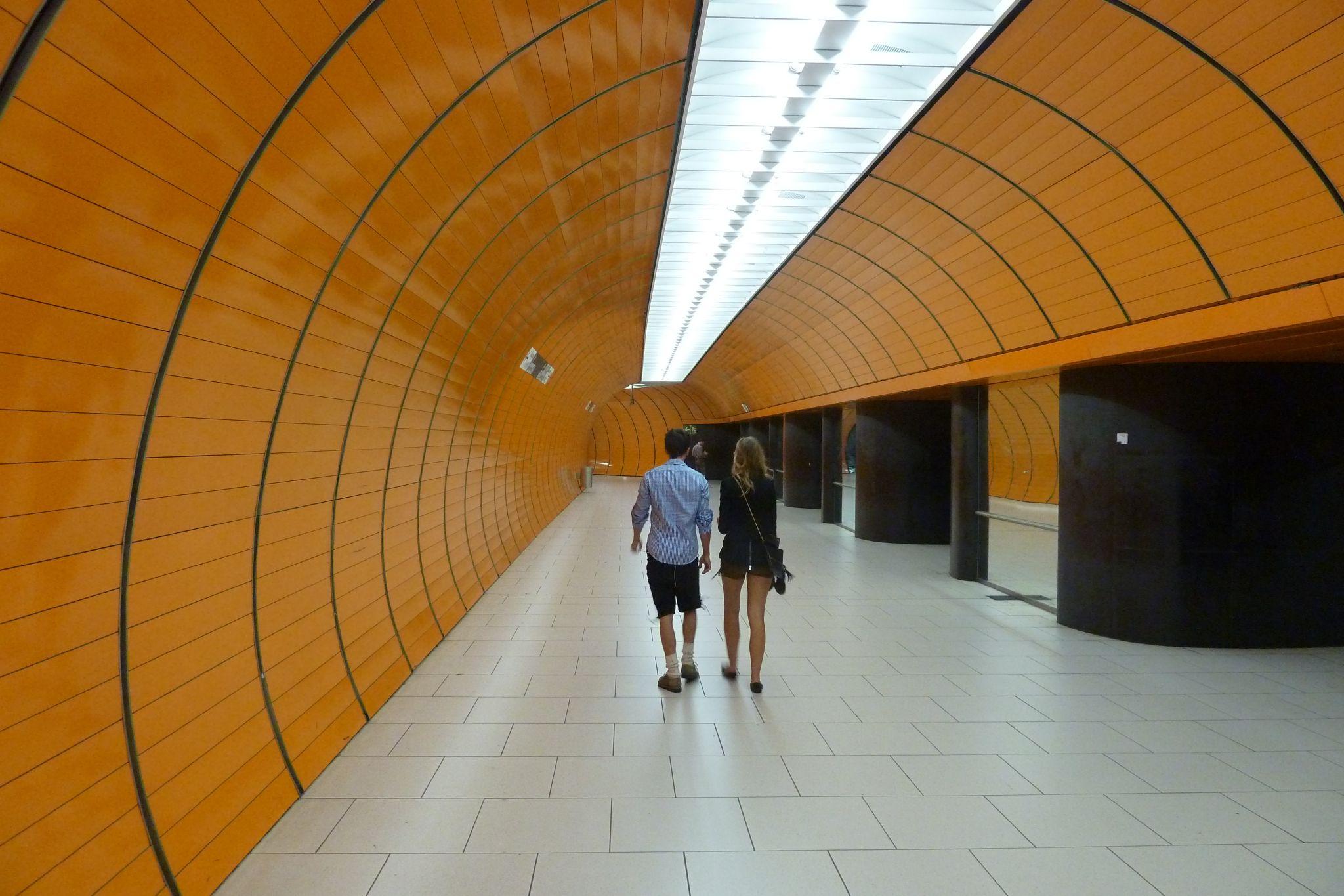 Marienplatz Subway Station, Germany
