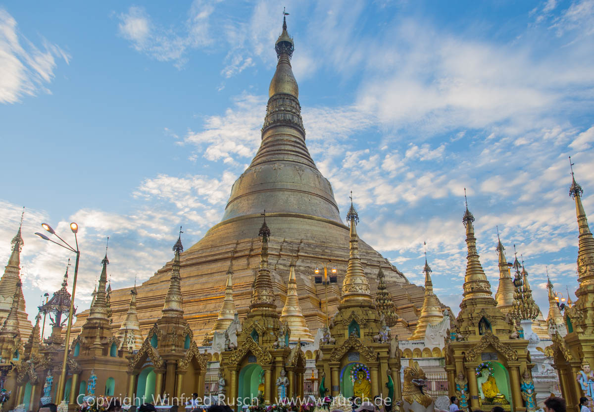 Shwedagon-Pagode, Myanmar