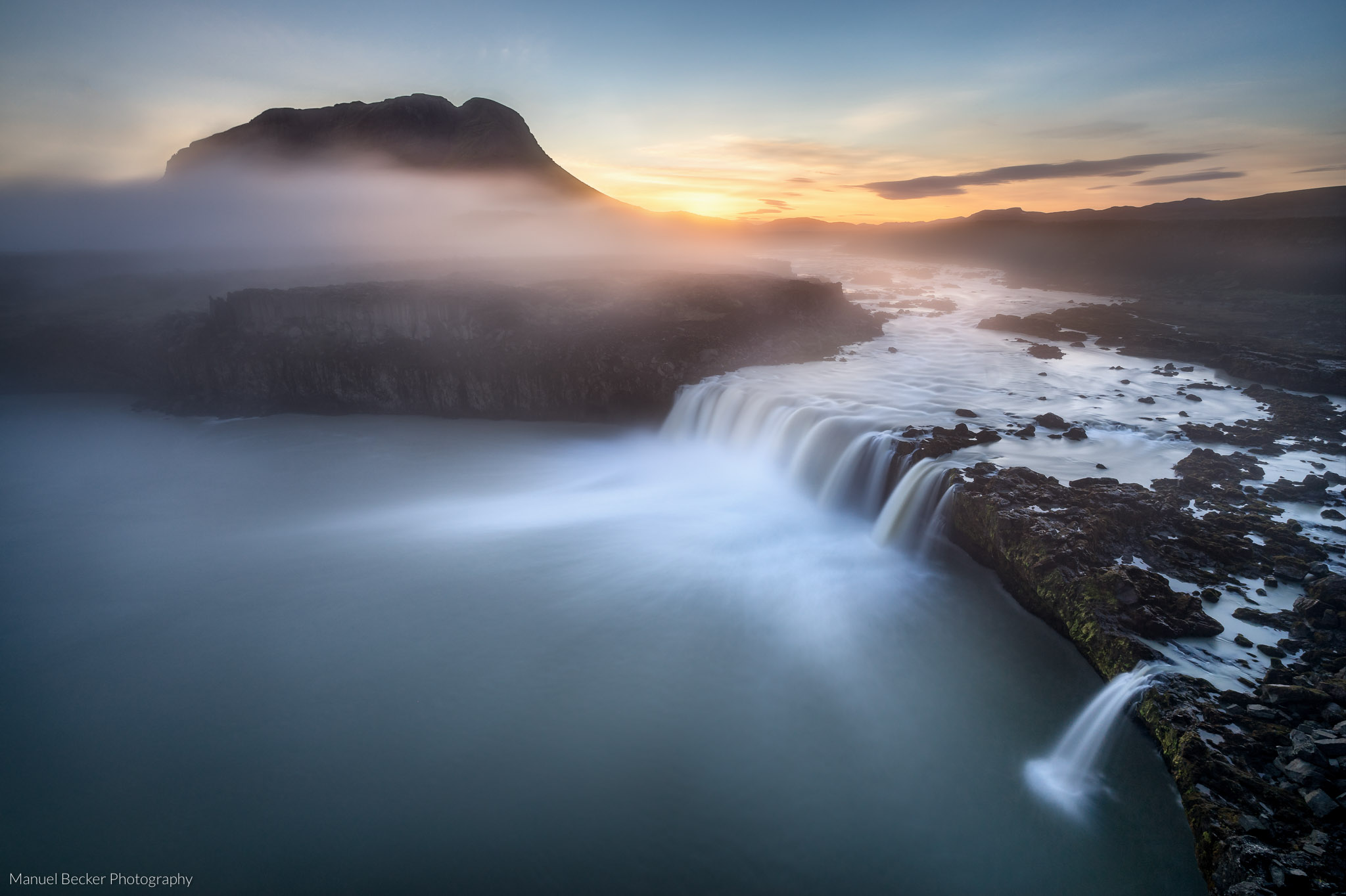 Thjofafoss Waterfall, Iceland