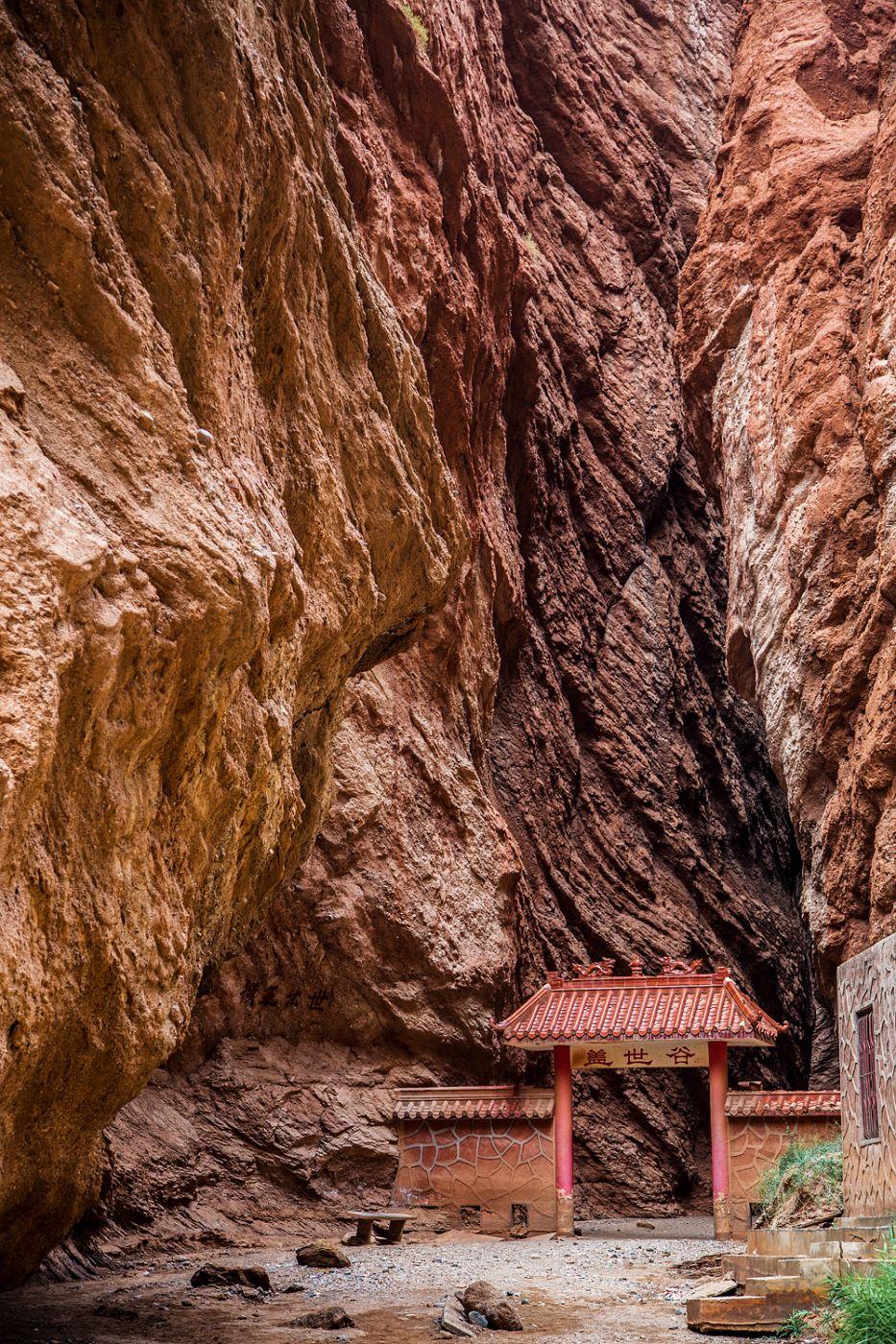 Tianshan Canyon, Xinjiang, Chinese silk road, China