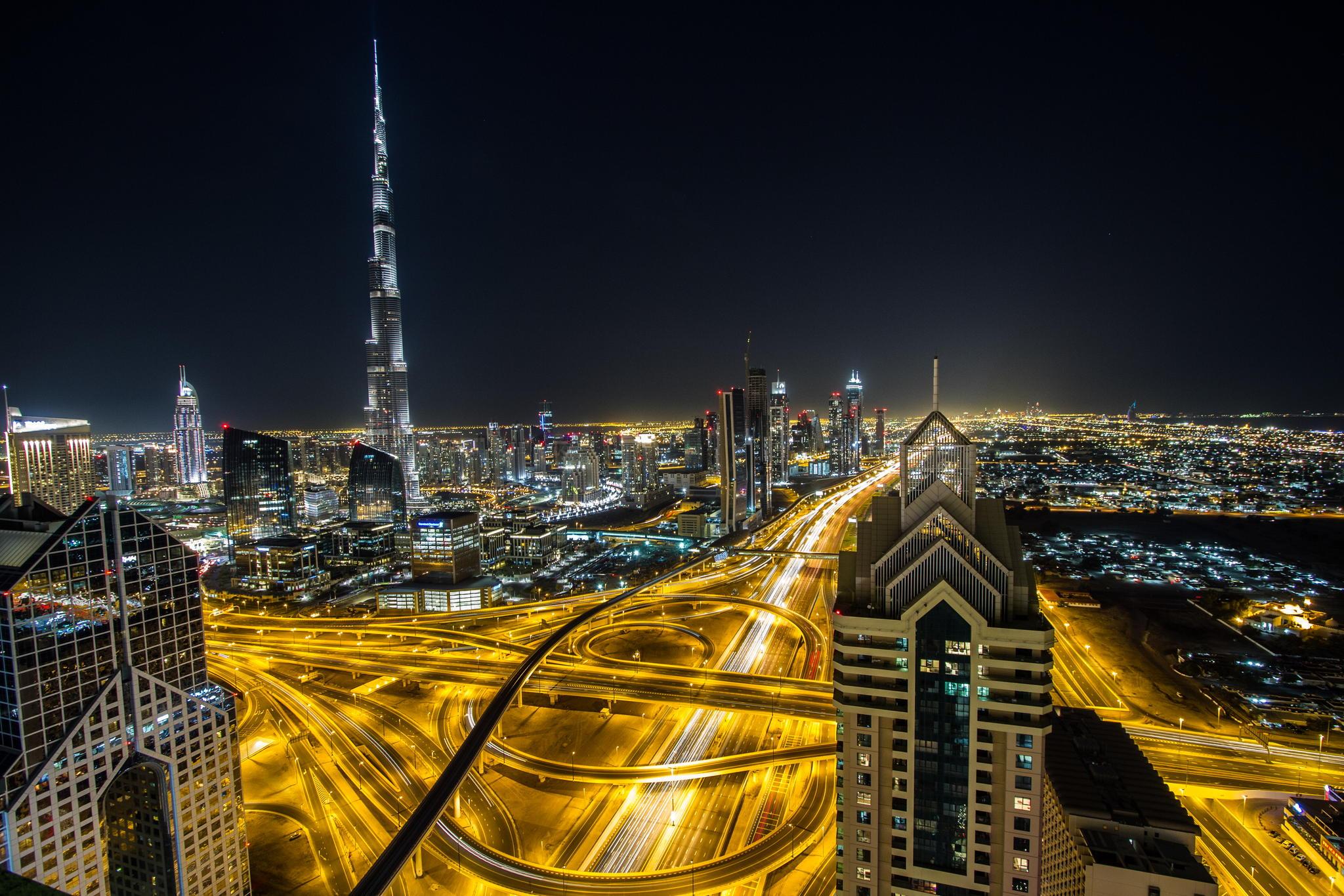 View of Burj Khalifa, United Arab Emirates