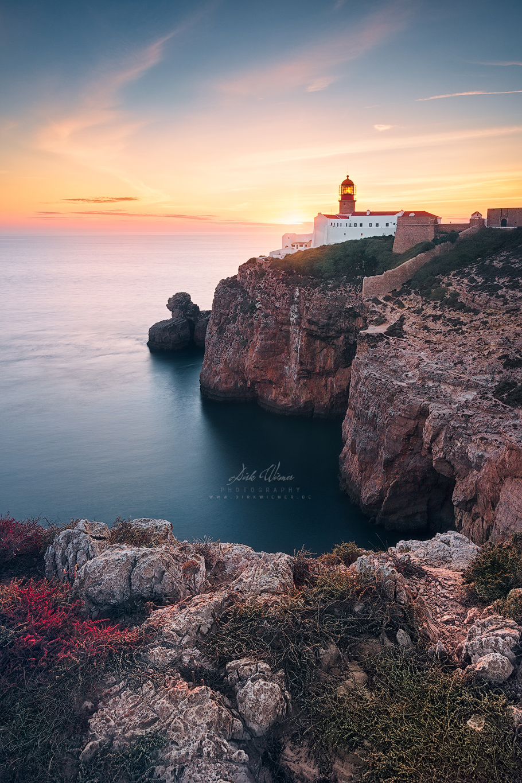 At the end of the world (Cabo de São Vicente / Algarve), Portugal