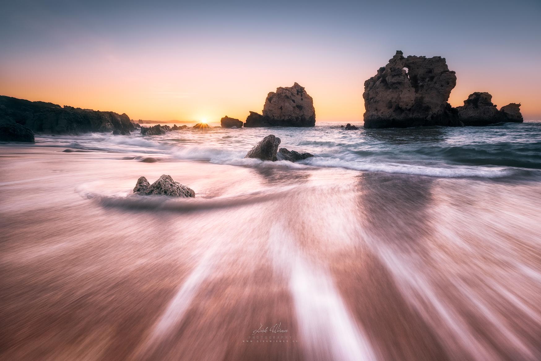 Back into the sea (Praia de Arrifes / Algarve / Portugal), Portugal