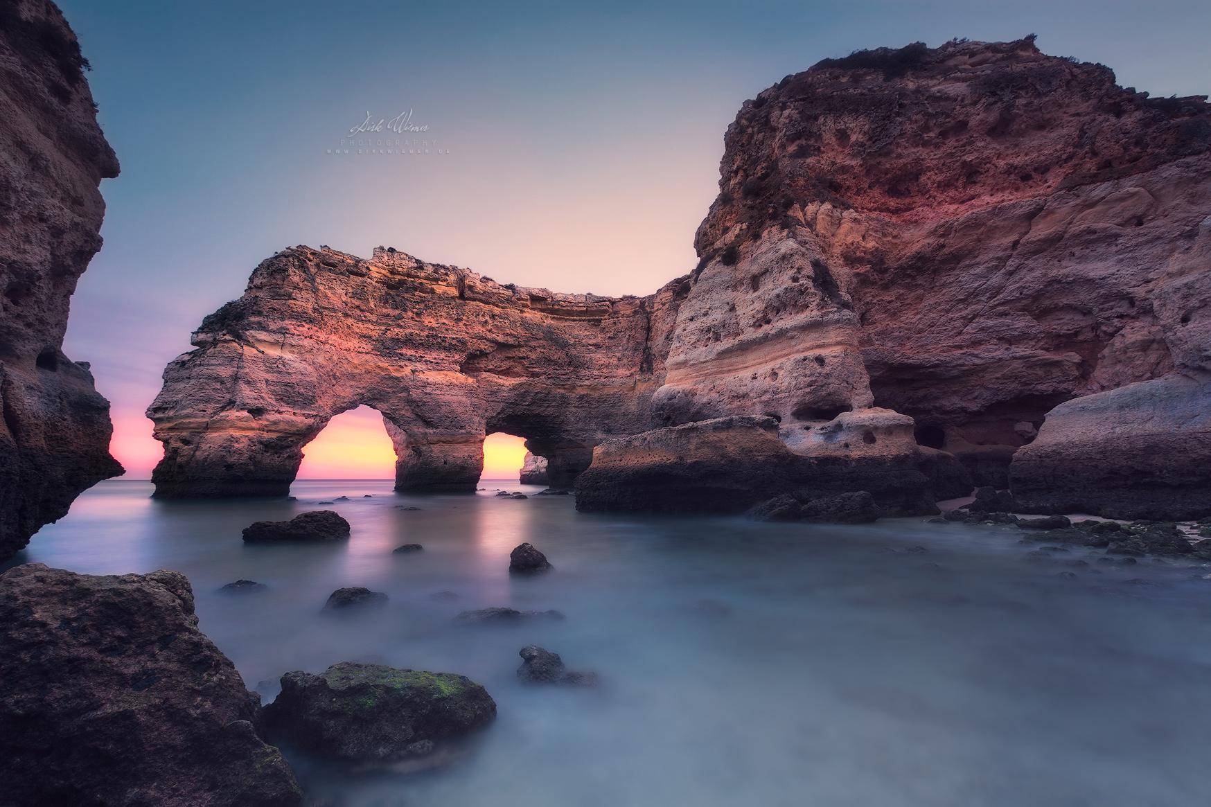 Blue hour in seconds (Praia da Marinha / Algarve / Portugal), Portugal
