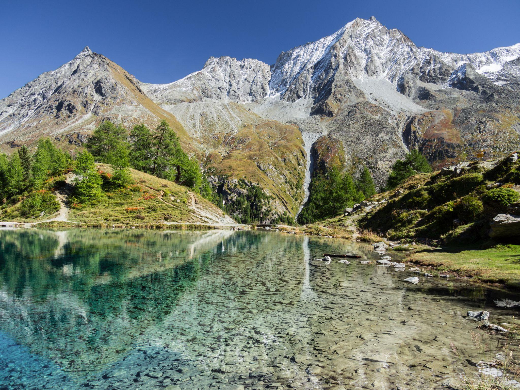 Blue Lake, Switzerland