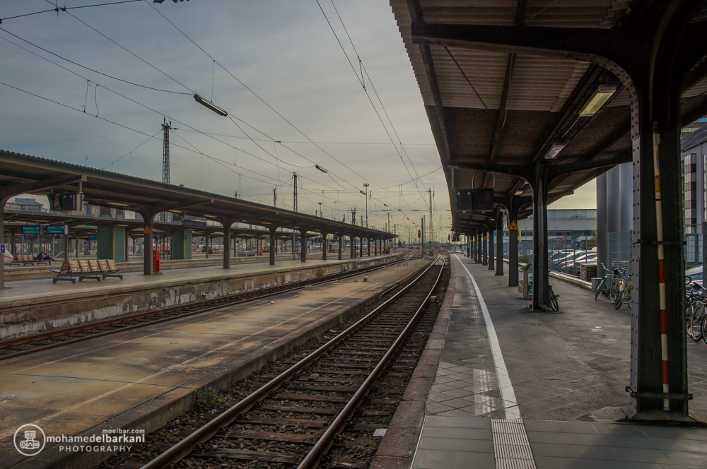 Frankfurt Central Railyway Station, Germany