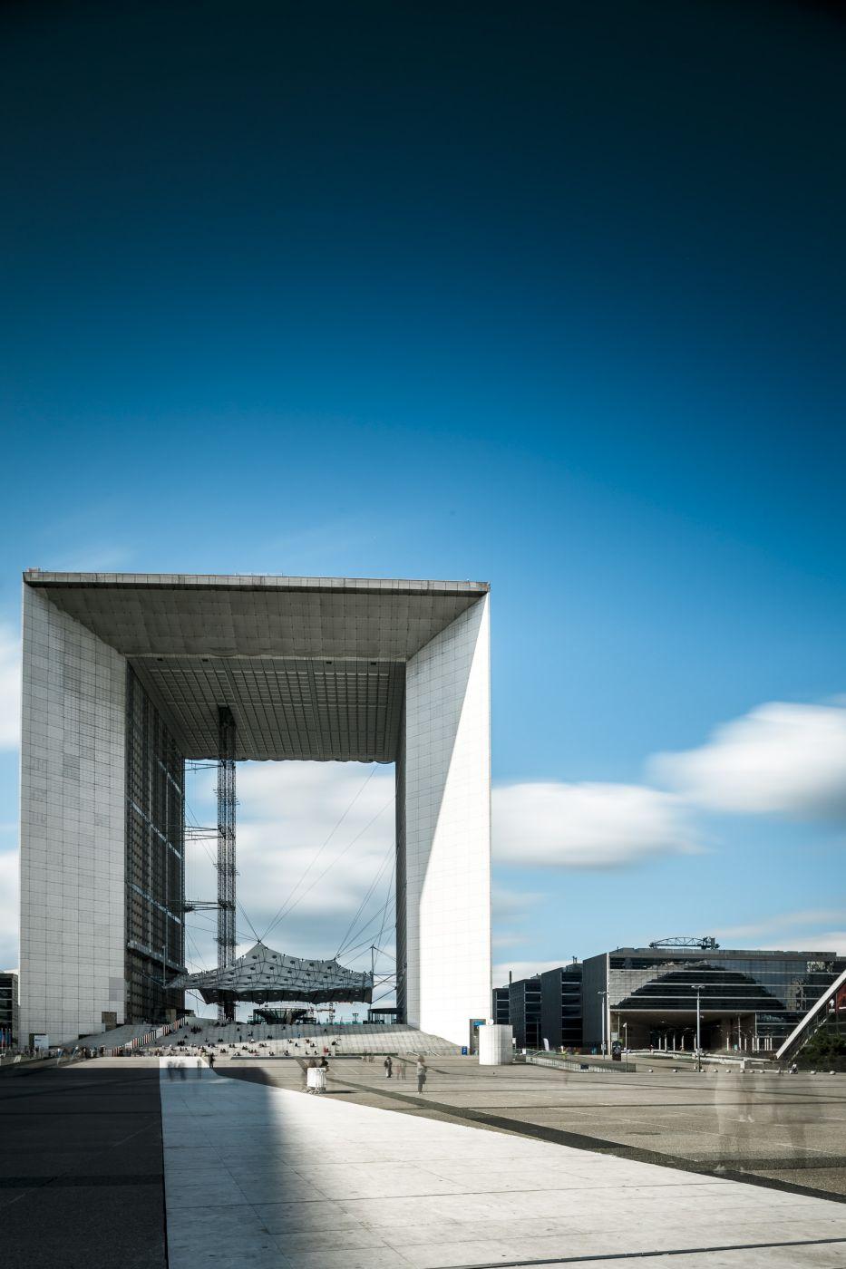 Grande Arche de la Defense, France