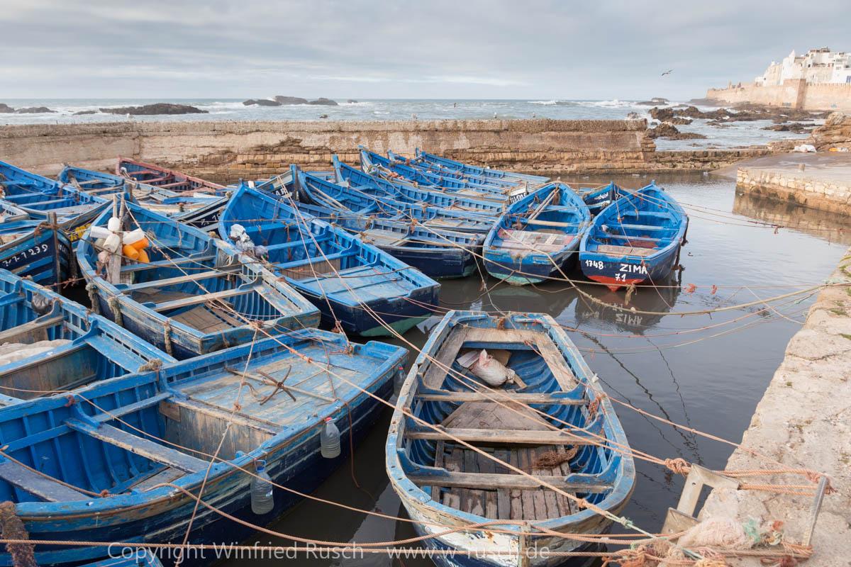 Hafen von Essaouira, Morocco