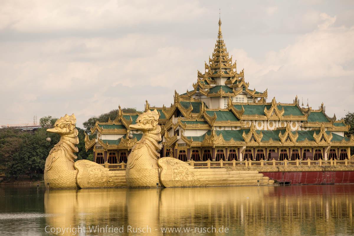 Karaweik Palace, Myanmar