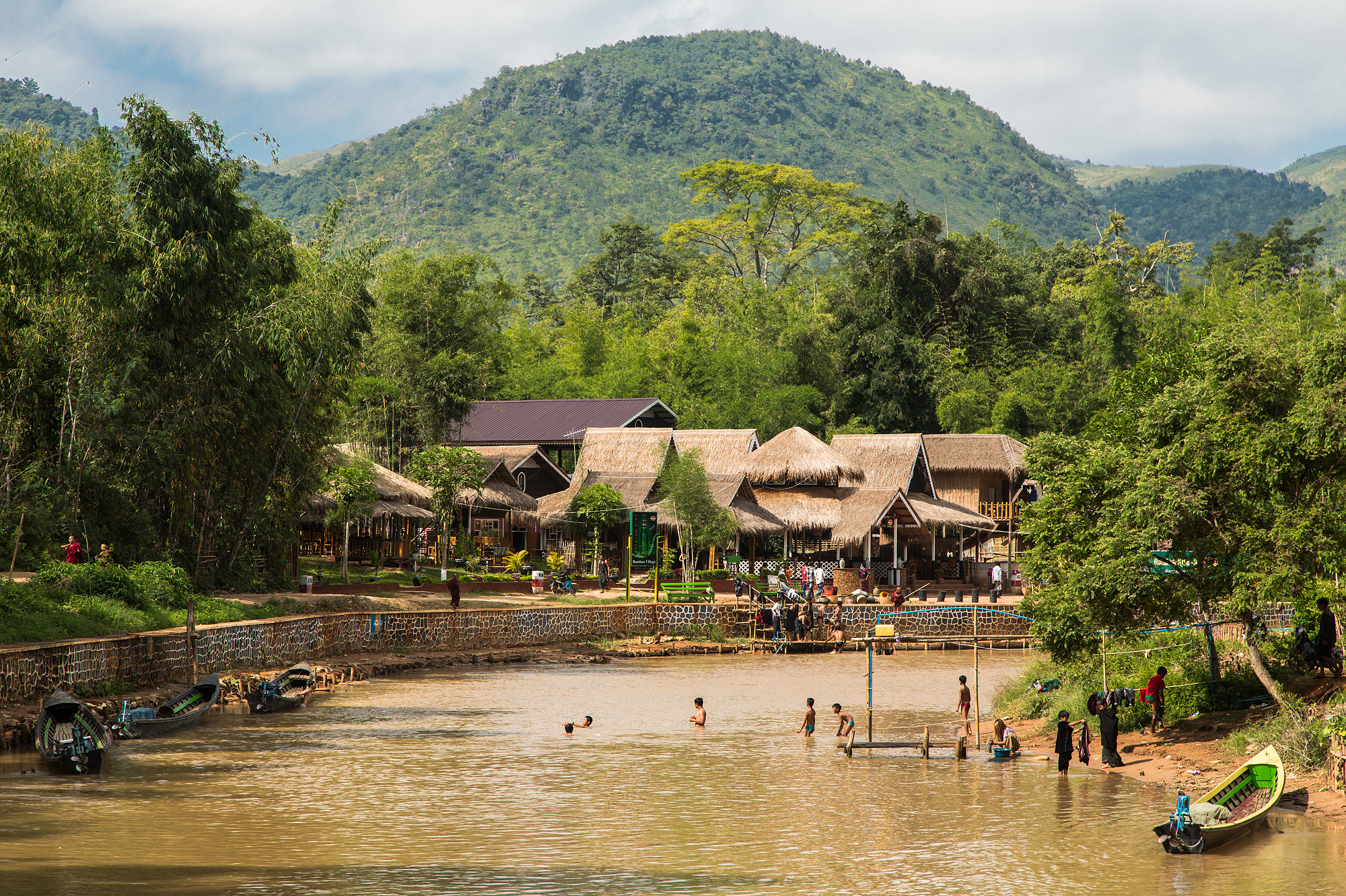 Leben am Inle-See, Myanmar