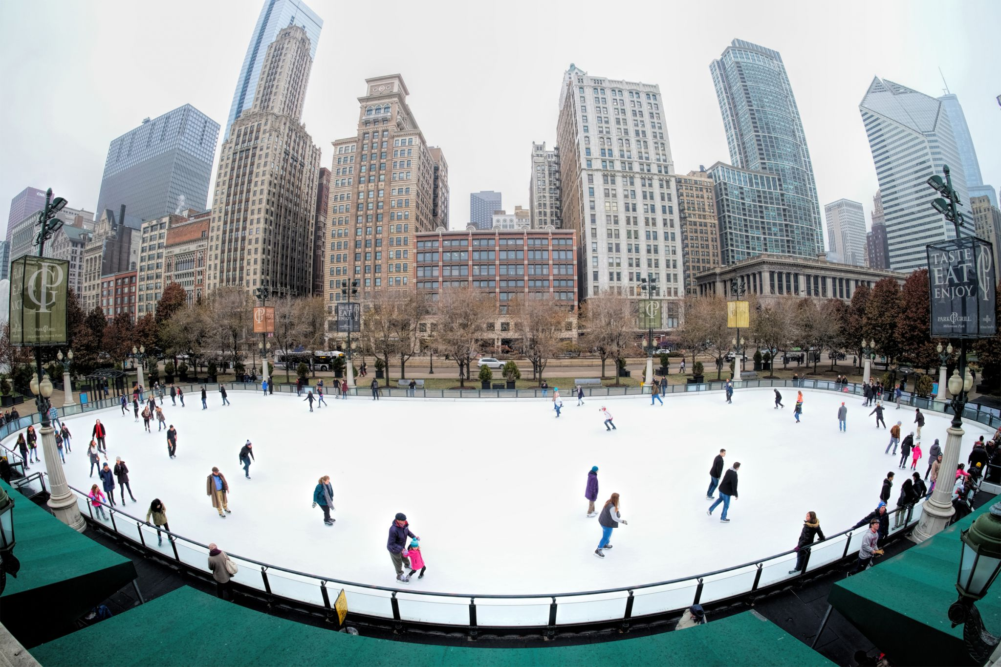 Millenium Park Ice Skating, USA