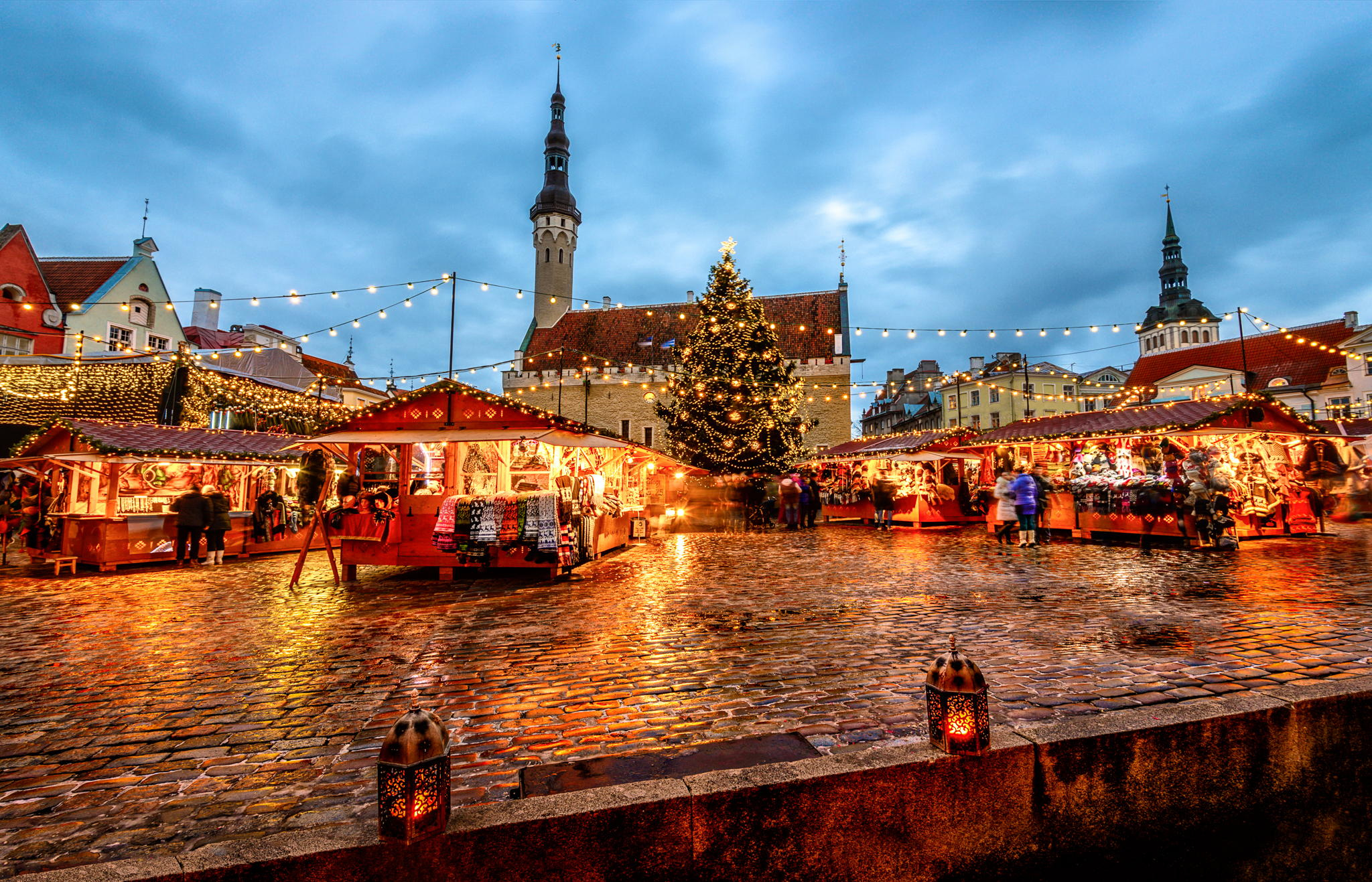 Old Town Of Tallinn (Christmas market), Estonia
