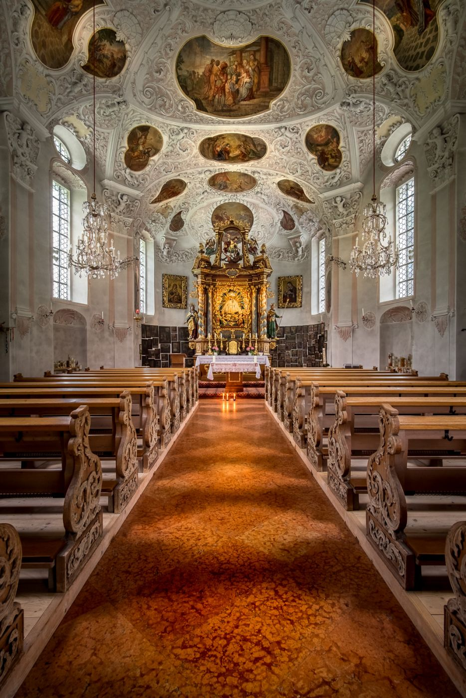 Pilgrimage Church of Maria Gern, Germany