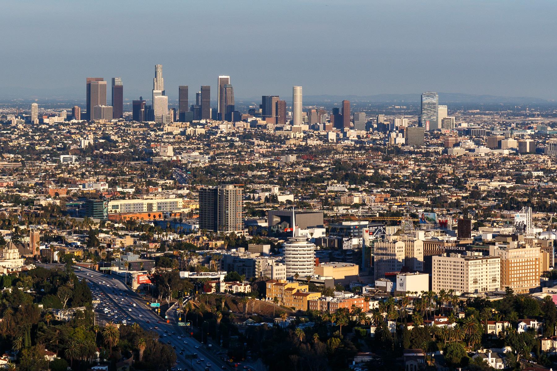 Skyline Los Angeles, USA