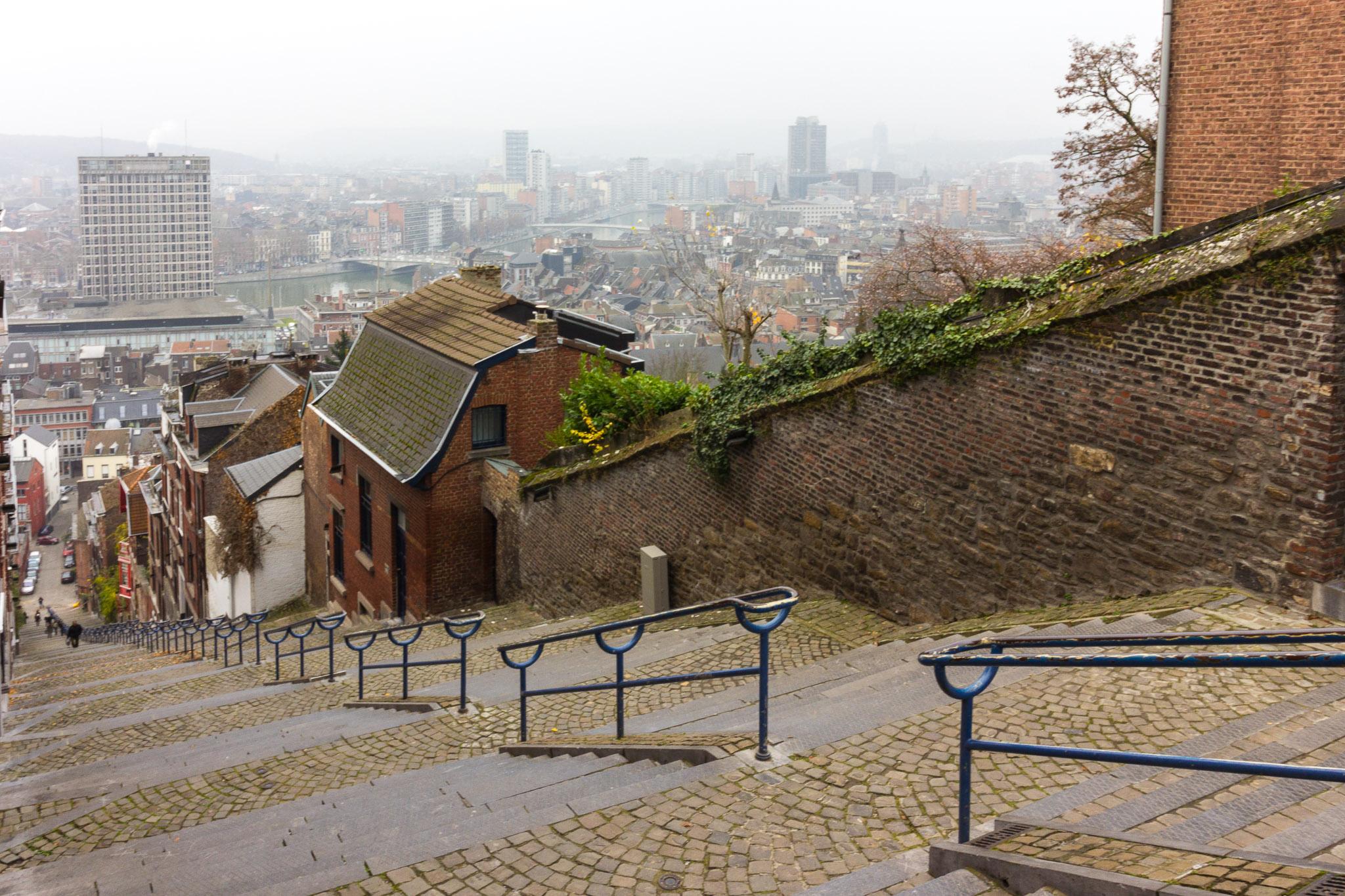 Stairway Montagne de Bueren, Belgium