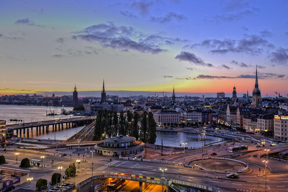View over Stockholm, Sweden