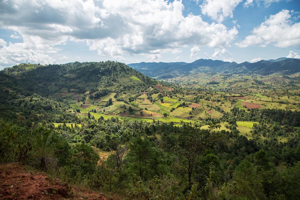 From Kalaw to Lake Inle1, Myanmar