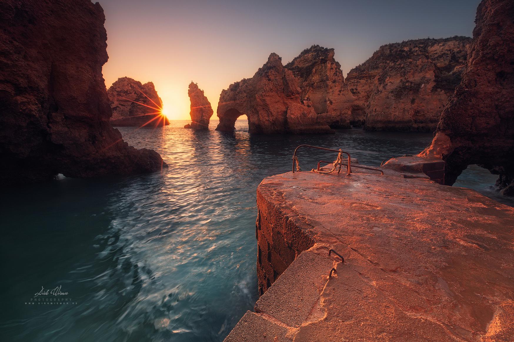 At Cape Bizar (Ponta da Piedade / Algarve), Portugal