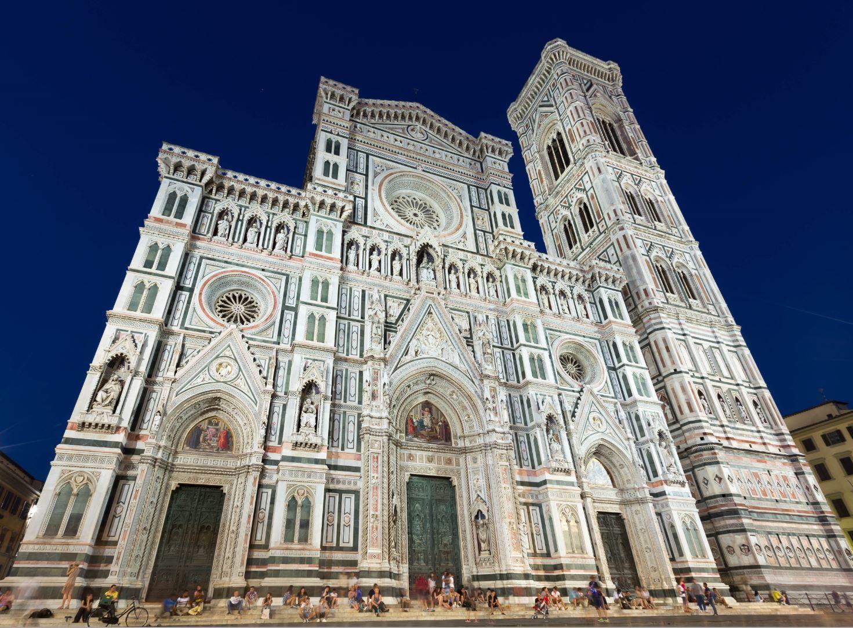 Cattedrale di Santa Maria and Campanile di Giotto, Italy