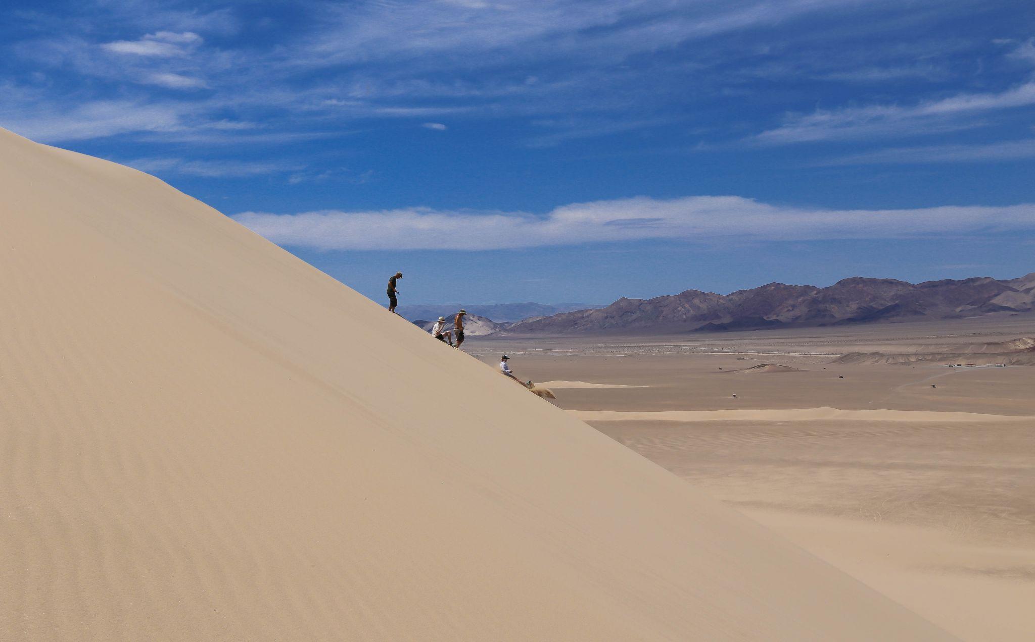 Dumont dunes!, USA