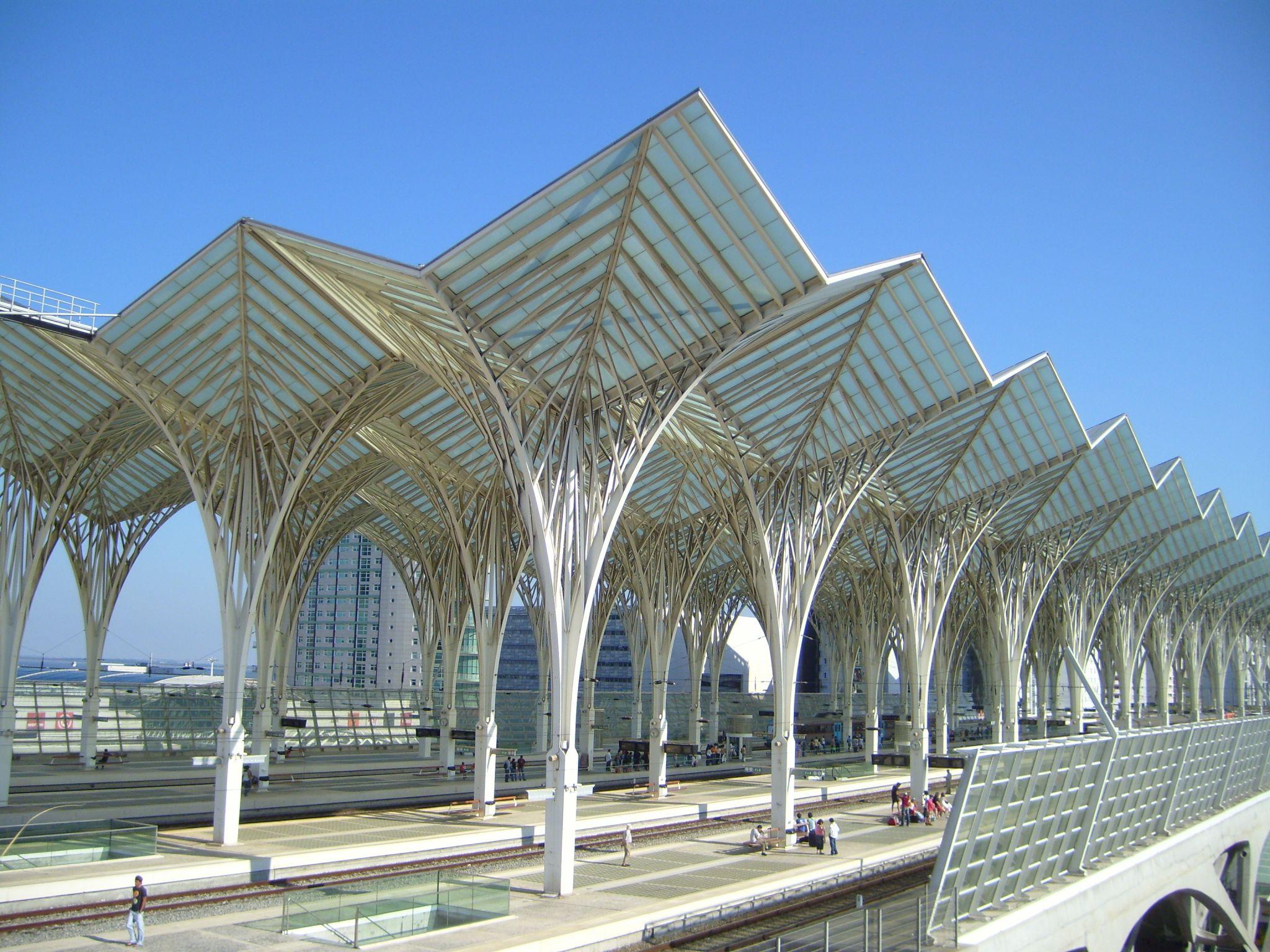 Gare do Oriente Train Station, Portugal