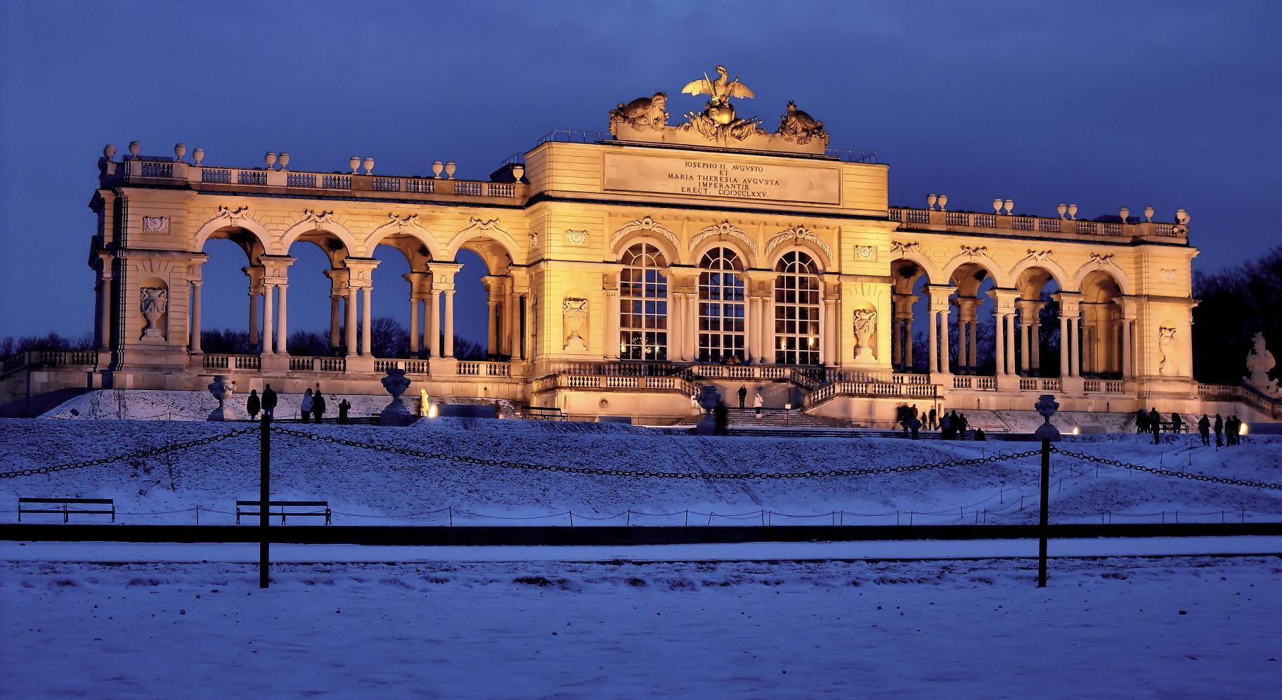 Gloriette Schönbrunn, Austria