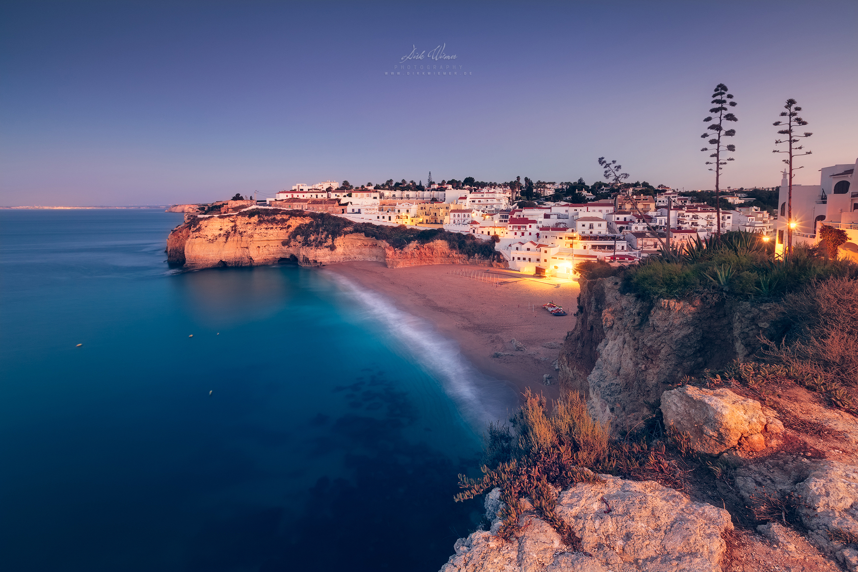 Golden Chalk Cliffs (Praia do Carvoeiro / Algarve), Portugal