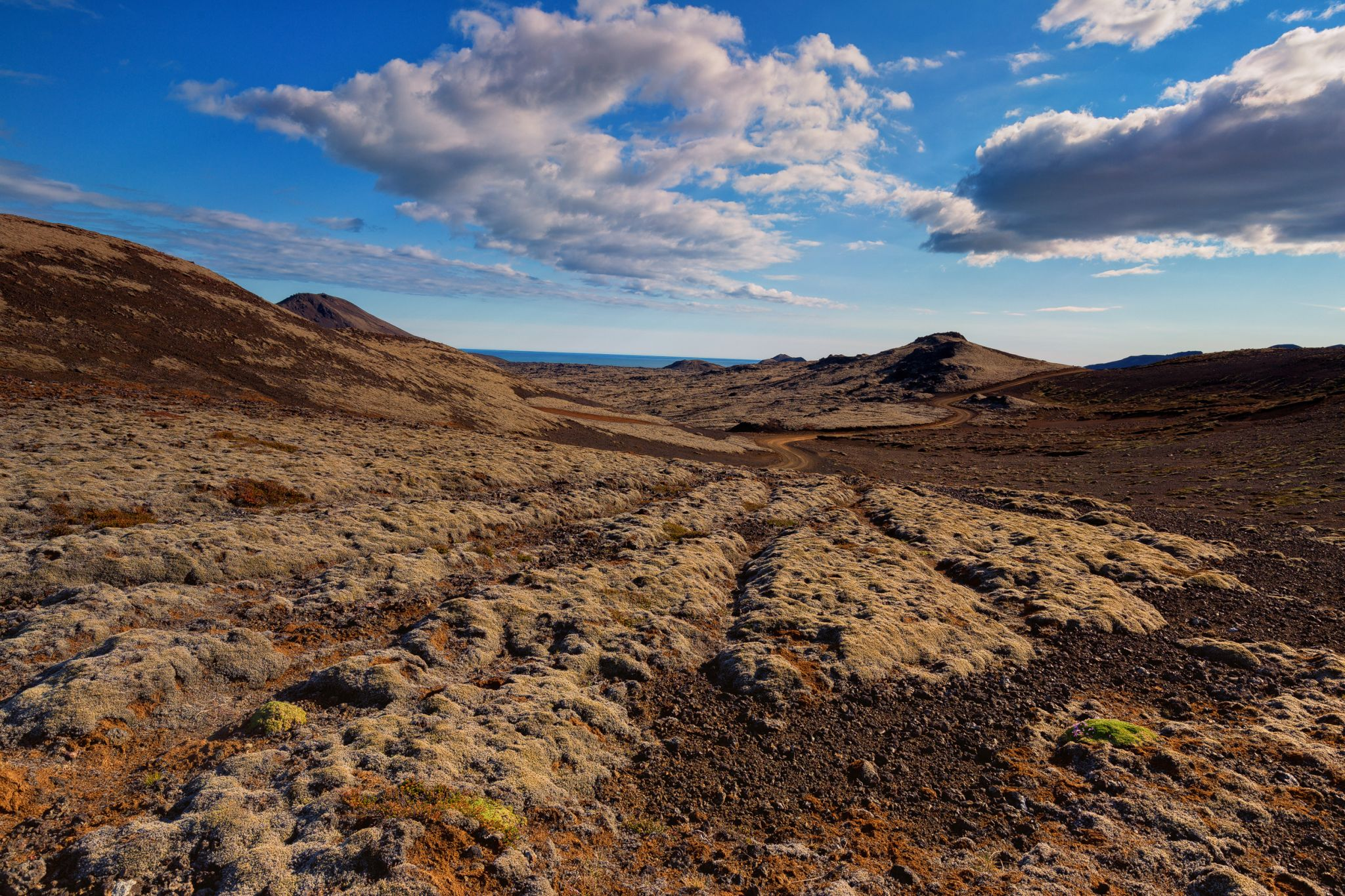 Gravel Road Iceland, Iceland