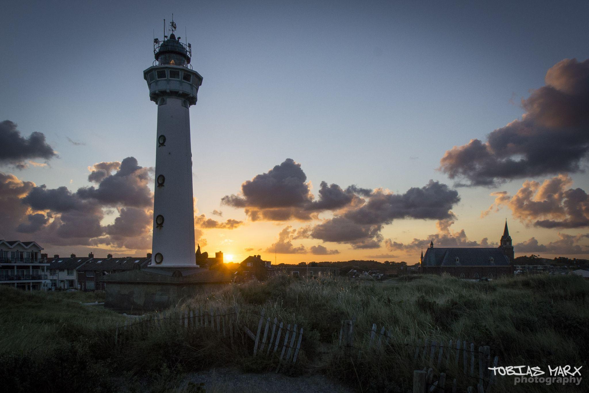 lighthouse of Egmond, Netherlands