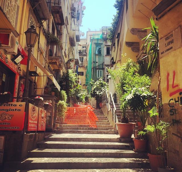 Napoli old town, Italy