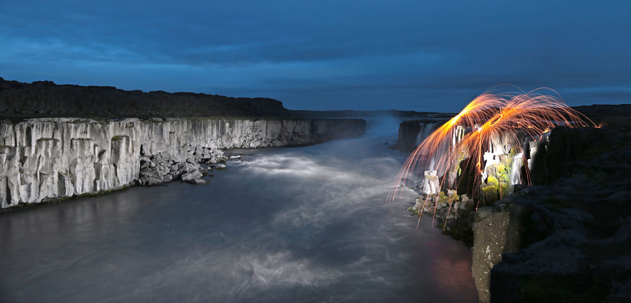Selfoss, Waterfall, Iceland