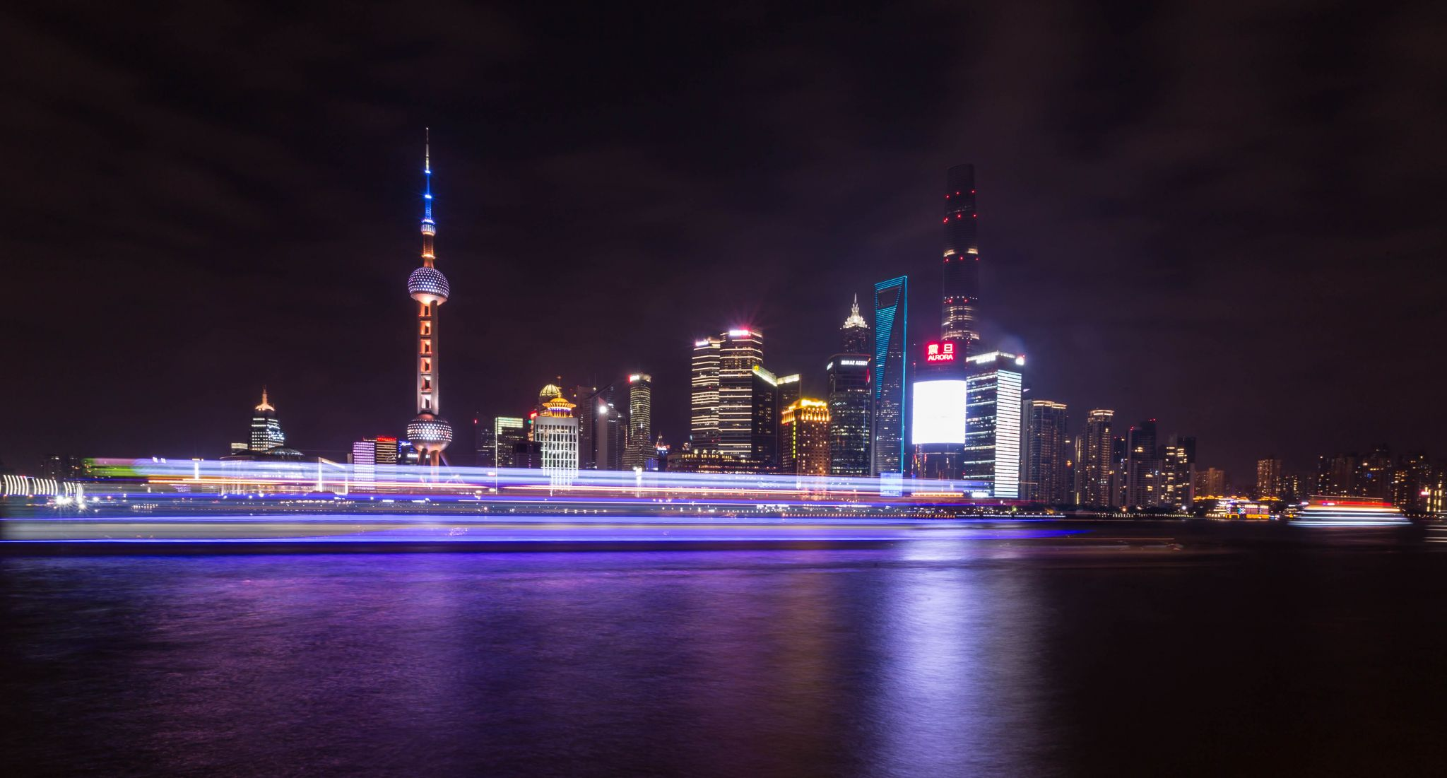 Shanghai Pudong Skyline, The Bund, China