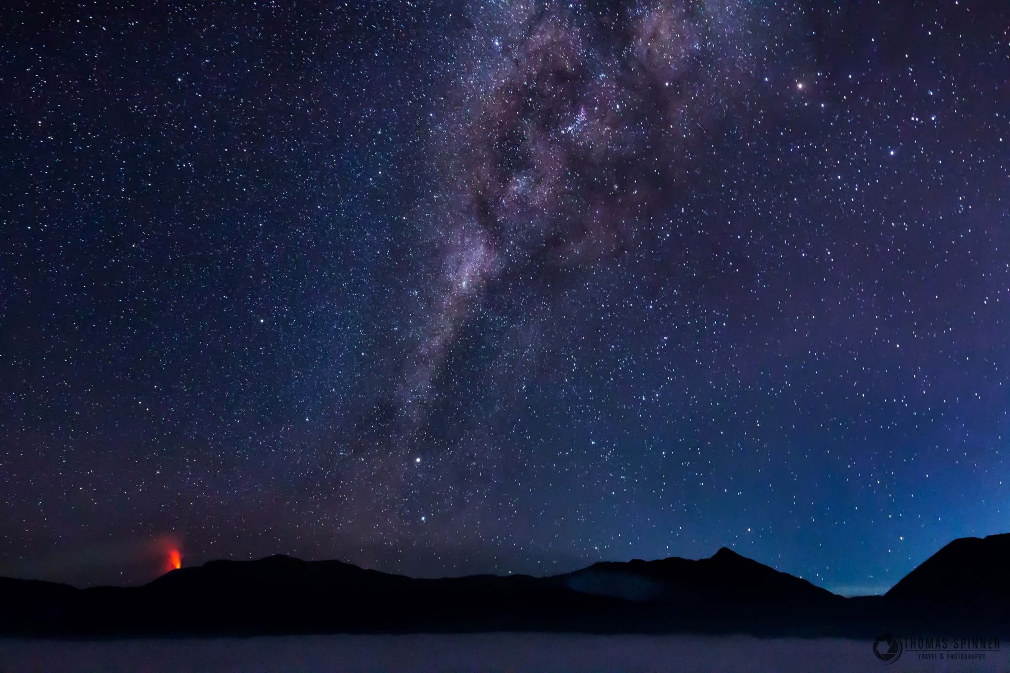 Stars @ Tengger Caldera, Indonesia