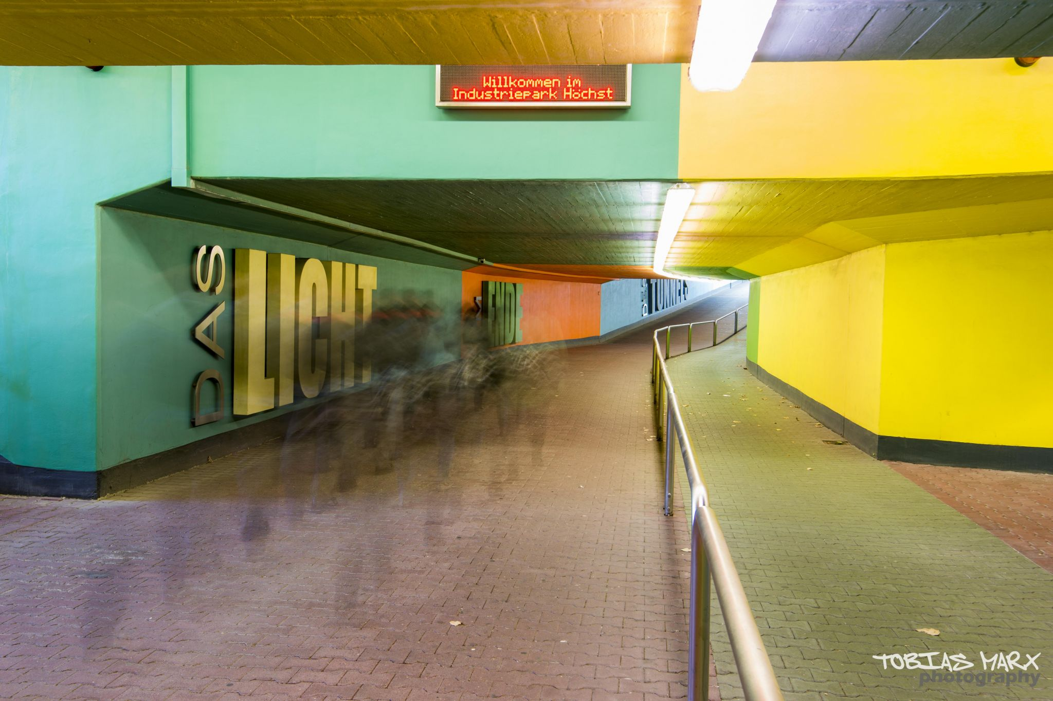 subway 'Farbwerke Höchst', Germany